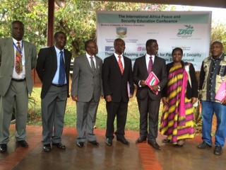 Munyaradzi Nyakudya, Prof. Pamela machakanja, Prof. David Francis, Prof. Jeffrey Kurebwa, Dr Arthur Bainomugisha. Prof. Kurehwa, Mr John katsinde