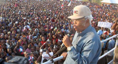 CHADEMA-UKAWA presidential candidate, Edward Lowassa rallies voters