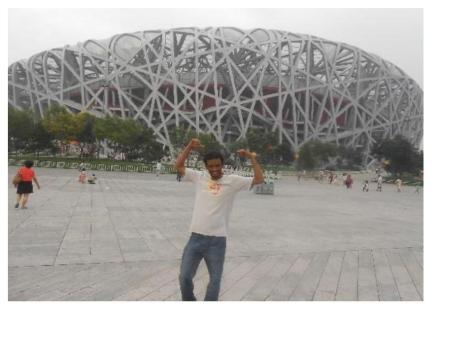The Bird's Nest Stadium, Beijing, 2014.